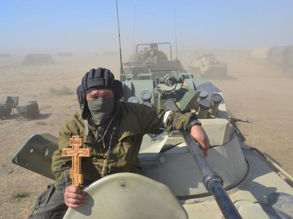 фото русских военных в сирии