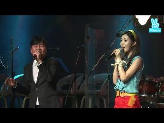 151207 DIA (Seunghee + Lee Jung Suk) - 사랑의 대화 @ Again 1988
