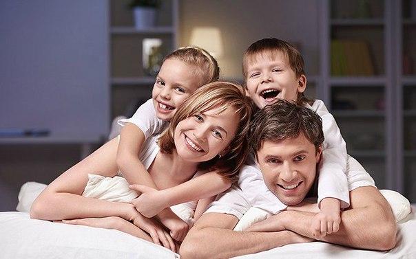 Счастье состоит из четырех частей: хороших РОДИТЕЛЕЙ, верных ДРУЗЕЙ, любимого ЧЕ...