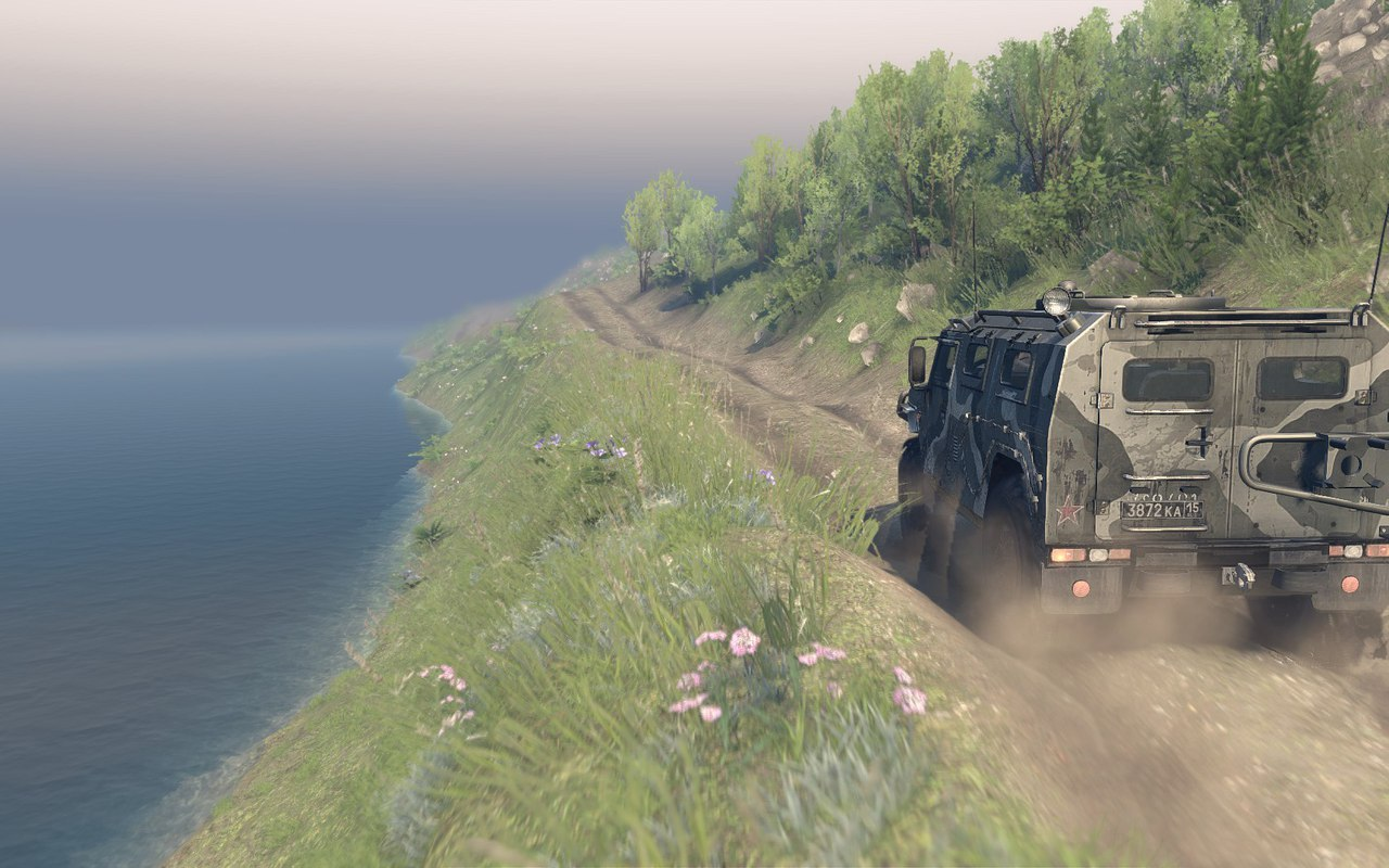 "Карта ""Project Two"" v.23.10.15 & 8.11.15 для Spintires - Скриншот 1"