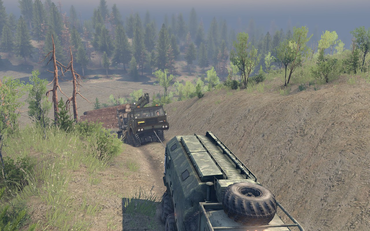 "Карта ""Project Two"" v.23.10.15 & 8.11.15 для Spintires - Скриншот 2"