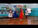 Ну очень хороший голос у девочки в красном платье!