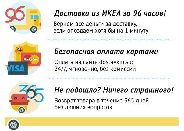 Доставка товаров из ikea в Барнаул, доставка товаров из
