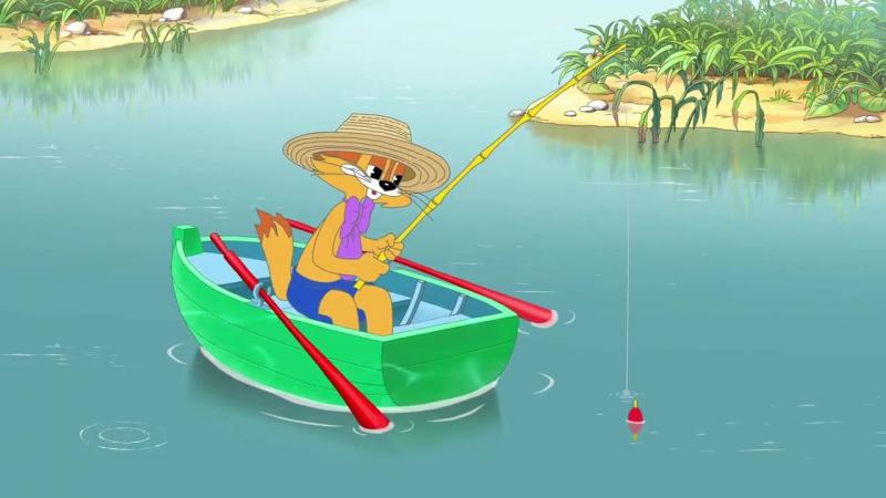 Скачать песню кота леопольда про рыбалку