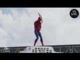 SPIDER MAN APARECE DANÇANDO MICHAEL JACKSON