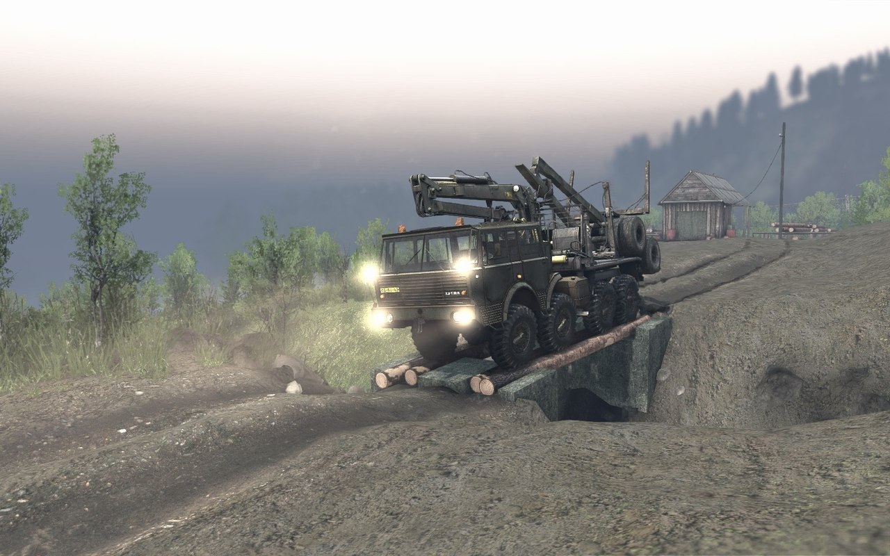"Карта ""Project Two"" v.23.10.15 & 8.11.15 для Spintires - Скриншот 3"