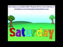 Days of the Week Song Saturday's My Favorite Day Children song Patty Shukla