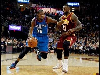 LeBron James Duels Kevin Durant in Cleveland