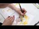 Урок Рисования Персонажа в Стиле Манга | Учимся рисовать маркерами ArtMarker.ru