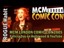 FELICIA DAY on Hollywoods' relationship with YouTube [MCM London Comic Con 2015]