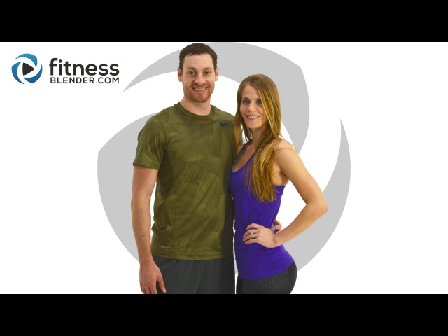 FitnessBlender - Day 1. 5 Day Challenge Strong and Lean. Cardio Strength Lower Body