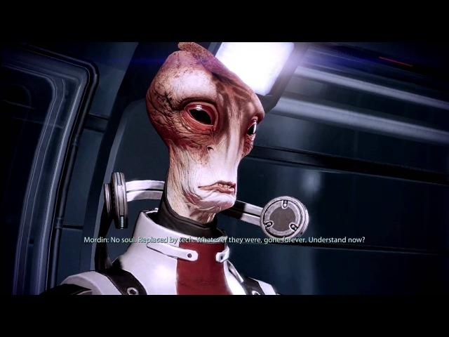 (1080p) Mordin Sings Scientist Salarian [Mass Effect 2]