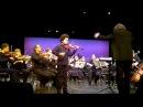 Akim Camara 11yo violinist playing C A de Beriot Concert Nr 9 2012
