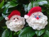 Como hacer la cara de Papa Noel a crochetTejemos!