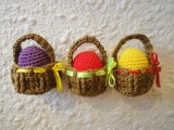 Пасхальная корзинка Easter basket Crochet