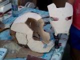 Как я делал шлем Железного человека #1/  Iron Man