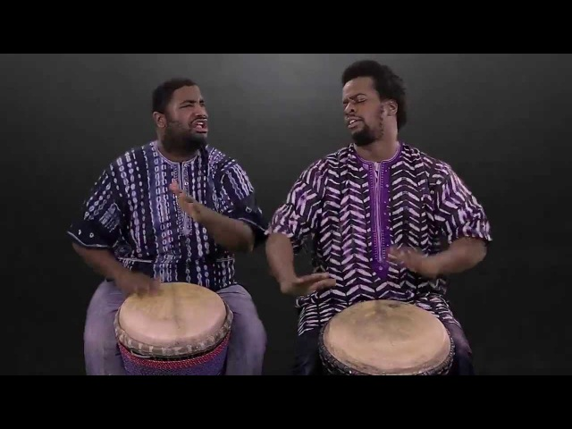 Weedie Amadou Djembe Duo - World Beat 101