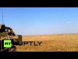 Россия Могучие ракеты уволен из движущихся пусковой Тор-М2У САМ.