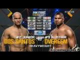 Джуниор Дос Сантос vs. Алистар Оверим. UFC on FOX 17.    20 декабря 2015.