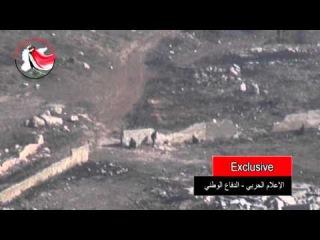 Сирийское ТВ случайно показало, как российские войска воюют за террористический режим Асада
