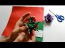 How to fold Pentagon Origami Naomiki Sato Rose Calyx 五角形 佐藤直幹 摺紙玫瑰 花萼教學