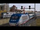 Open Rails Northeast Corridor MSTS Default Route