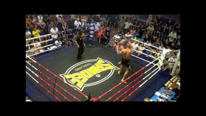 Nikolai Kozyrev (AKA Thailand) vs Steve (Sitsongpeenong) 24.02.2016