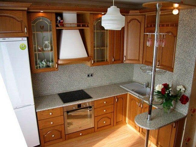 Кухни для квартир кпд