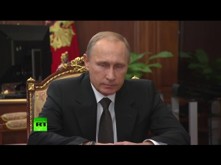 Путин о теракте на борту А321- Россия