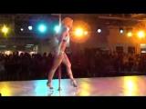 Ольга Кода!- Pole dance (Спортивная акробатика танец на пилоне)