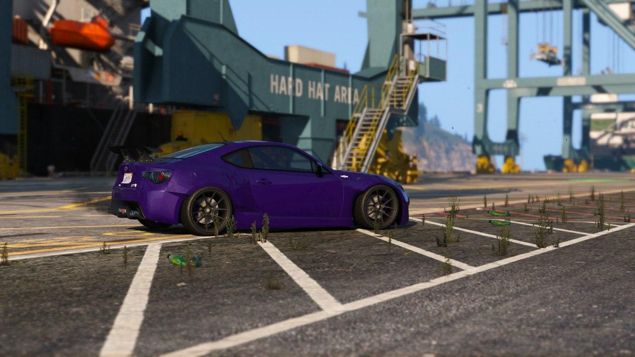 Rocket Bunny Toyota GT-86 1.5 для GTA V - Скриншот 3
