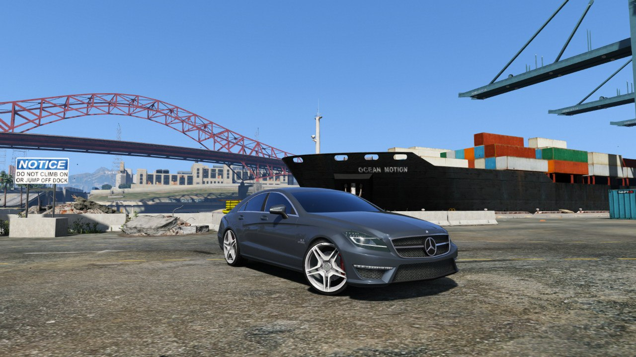 Mercedes-Benz CLS 6.3 AMG [BETA] для GTA V - Скриншот 1