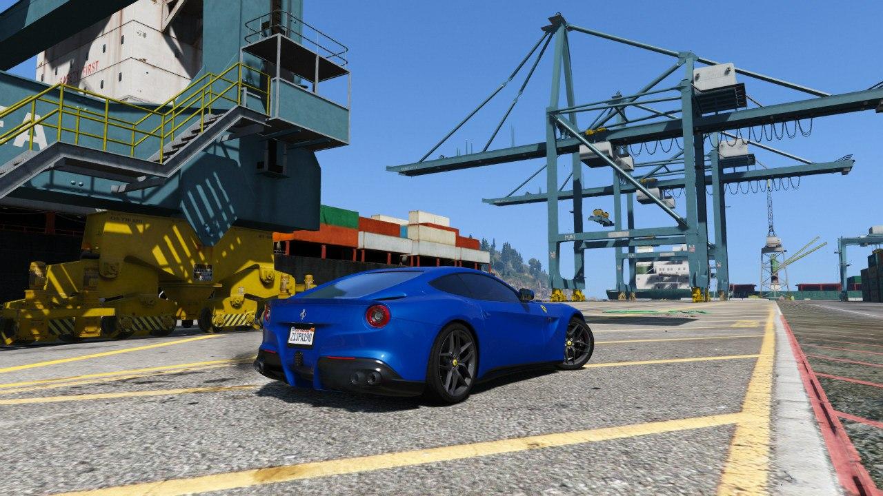2013 Ferrari F12 Berlinetta для GTA V - Скриншот 2