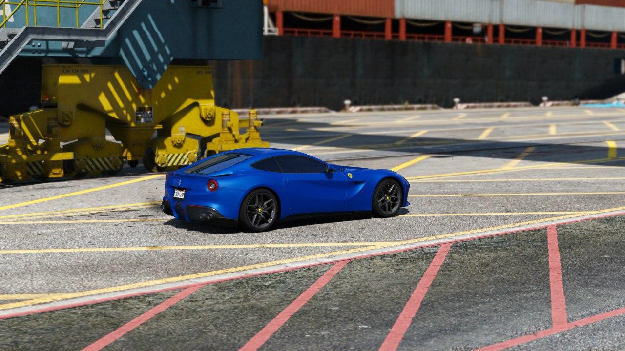 2013 Ferrari F12 Berlinetta для GTA V - Скриншот 3
