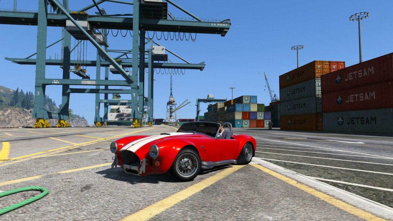 AC Cobra 1.3 для GTA V - Скриншот 1