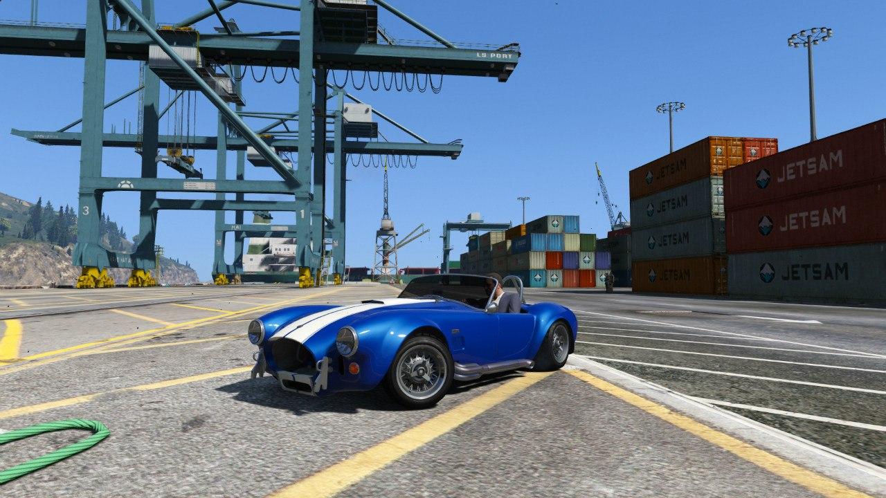 AC Cobra 1.3 для GTA V - Скриншот 2