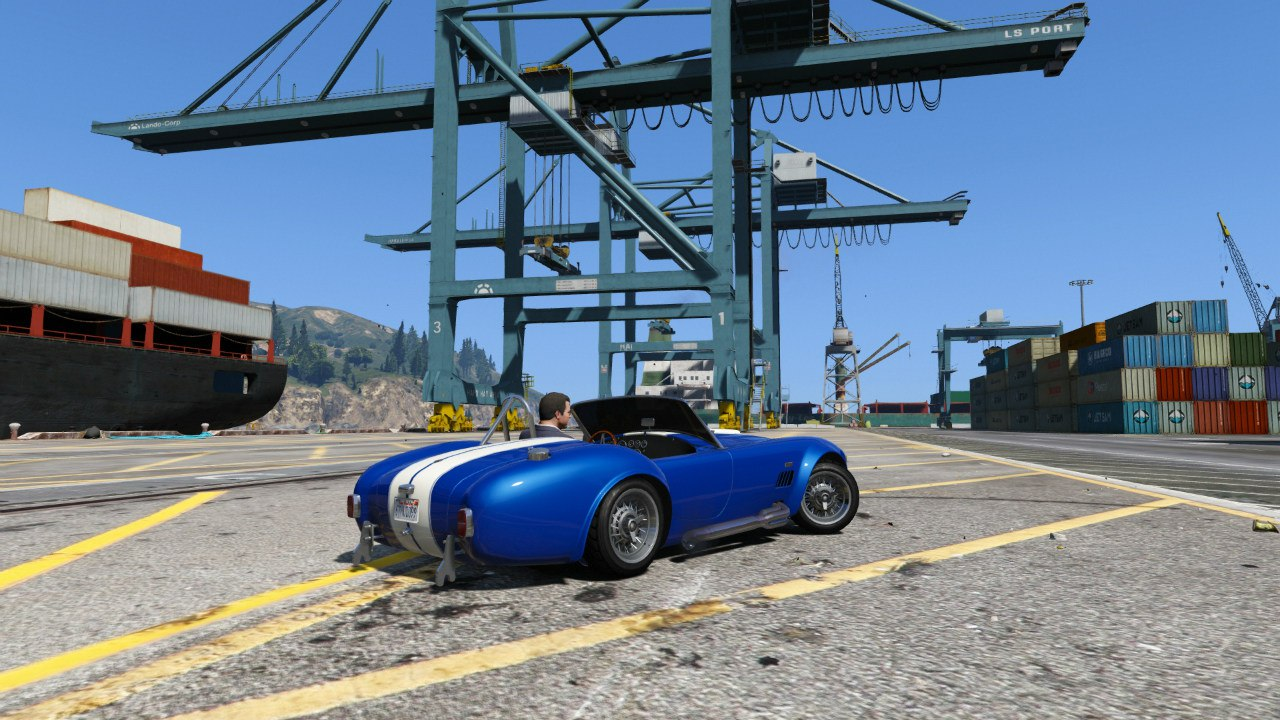 AC Cobra 1.3 для GTA V - Скриншот 3