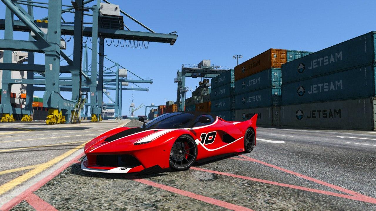 Ferrari FXX-K для GTA V - Скриншот 2