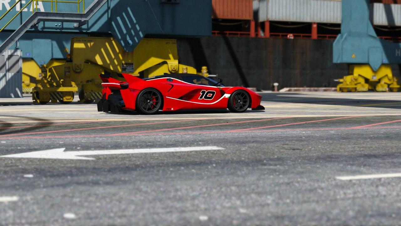 Ferrari FXX-K для GTA V - Скриншот 3