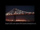 Технология Позади миров крупнейших светодиод Скульптура