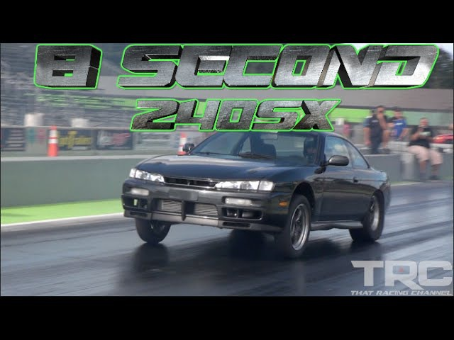 8 Second Street Car TRC 240sx - Toyota Trans World Record! TRC 2JZ 240sx netted a best of 8.09 @ 175 mph