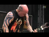 The Big 4 - Slayer - War Ensemble Live Sweden July 3 2011 HD