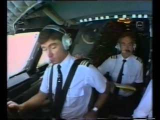 Конкорд, взлёт из кабины.Concorde From the cockpit, Take off and landing