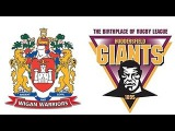 2016 SLXXI RD 2 Huddersfield Giants v Wigan Warriors H1