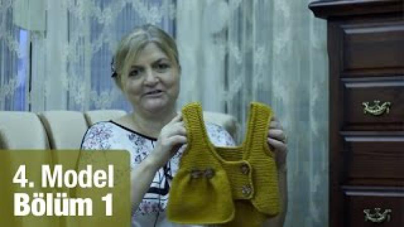 Örgüden Kız Ata Yeleği Yapımı Detaylı Anlatım |4. Model (15)