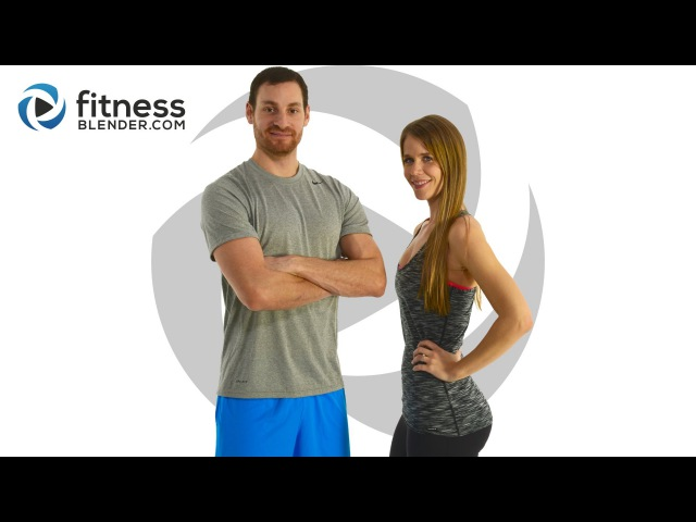 FitnessBlender - Day 4. 5 Day Challenge Strong and Lean. Cardio Strength Upper Body Yoga