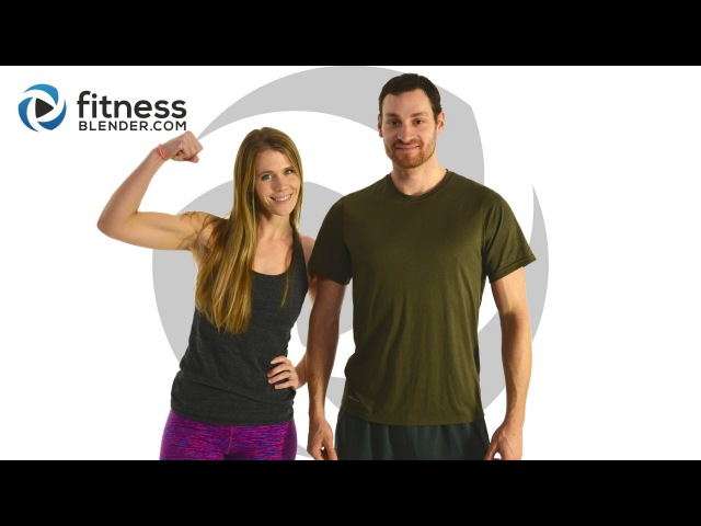 FitnessBlender - Day 5. 5 Day Challenge Strong and Lean. HIIT Cardio Butt and Thigh Workout