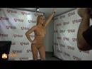 Jenny Scordamaglia Nude 3D Statue Printing Backstage