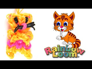 Rainbow Loom TV - Как плести из резинок КОШКУ - Игрушки из резинок Rainbow Loom №7