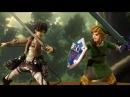 Attack on Titan Stop Motion: Eren VS Link